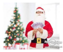 Prestiti in denaro veloci ed urgenti alla fine dell'anno.